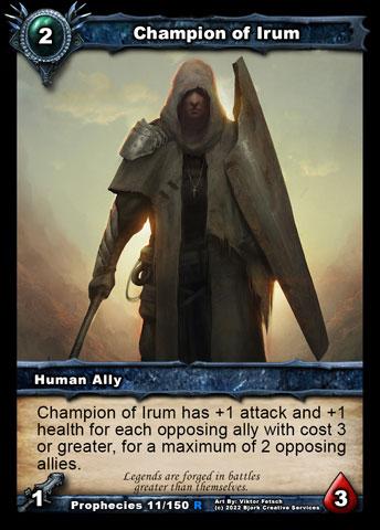 Champion of Irum