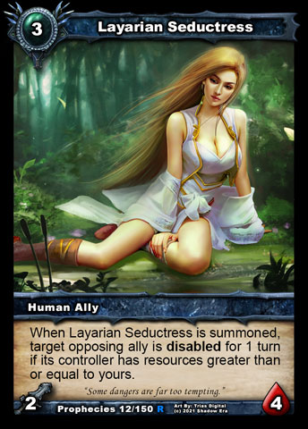 Layarian Seductress