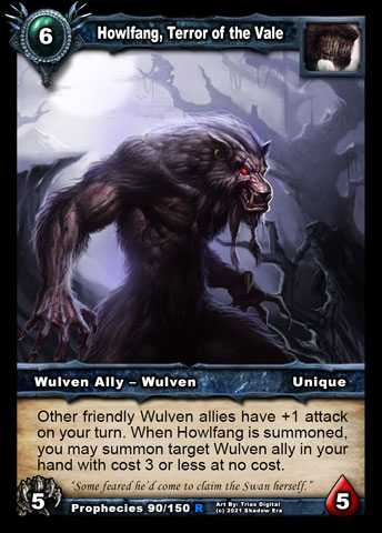 Howlfang, Terror of the Vale