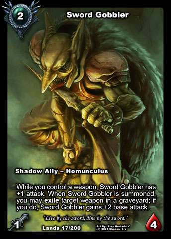 Sword Gobbler