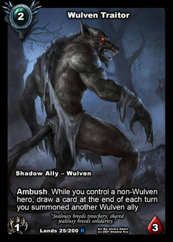 Wulven Traitor