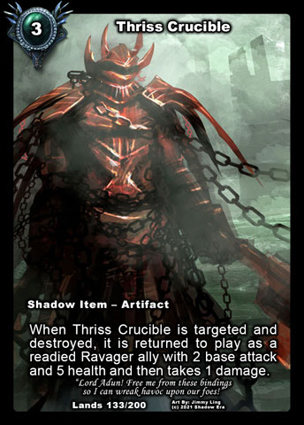 Thriss Crucible Foil