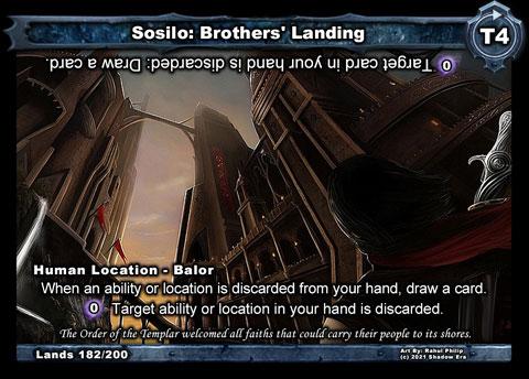 Sosilo: Brothers' Landing