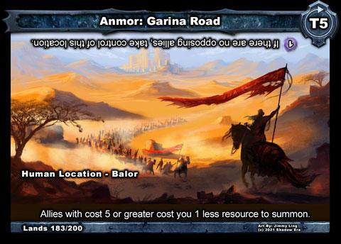 Anmor: Garina Road