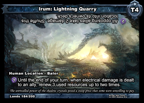 Irum: Lightning Quarry