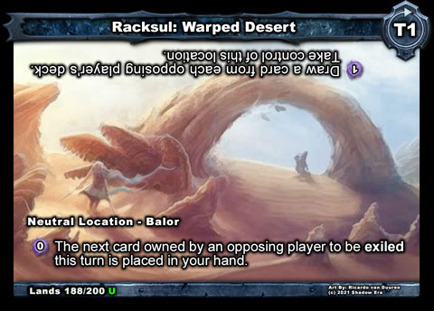 Racksul: Warped Desert