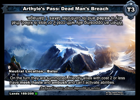 Arthyle's Pass: Dead Man's Breach