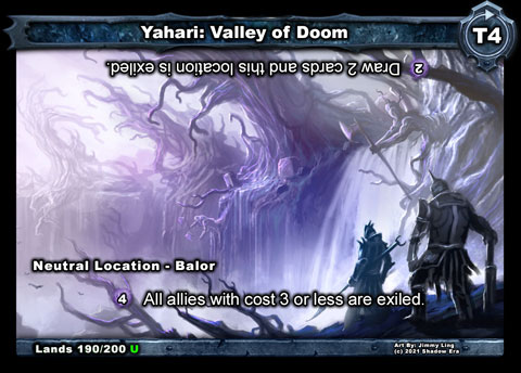 Yahari: Valley of Doom