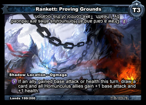 Rankett: Proving Grounds