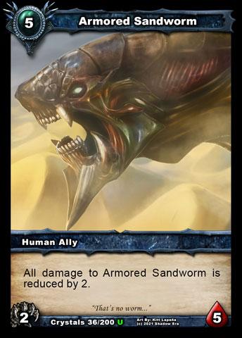 Armored Sandworm