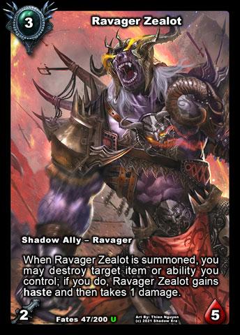 Ravager Zealot Foil