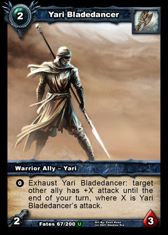 Yari Bladedancer