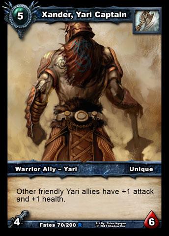 Xander, Yari Captain