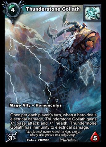 Thunderstone Golem